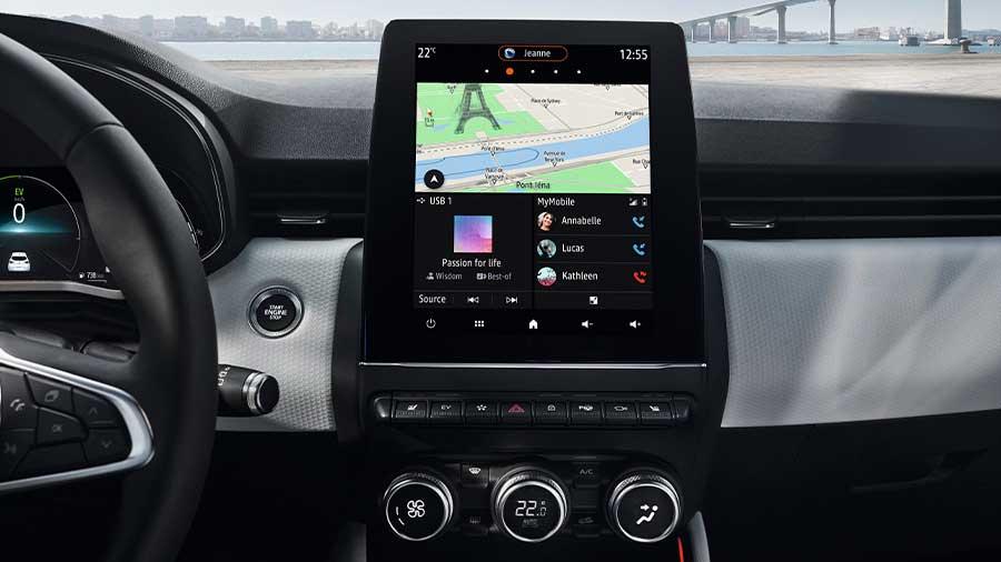 Top Ausstattung mit Ihrem Renault Abo unterwegs